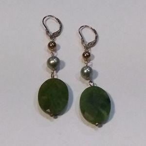 Michael Lu Semi-Precious Stones Earrings.
